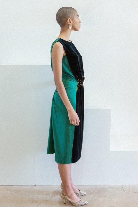 Alberta Ferretti Vintage Dress - Emerald