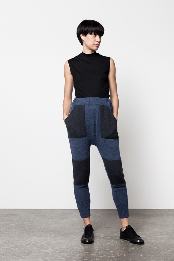 Lauren Manoogian Blocked Arch Pant