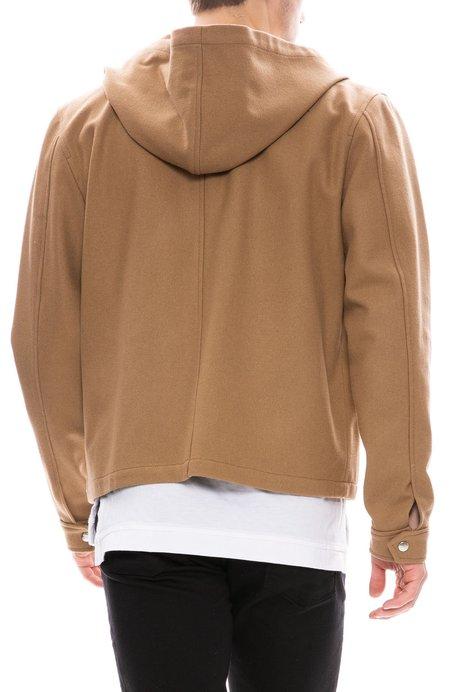 AMI Zip Jacket - Camel