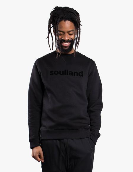 Soulland Logic Willie Crewneck - black