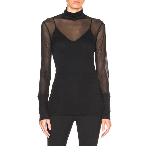 Rag & Bone ELLEN DOUBLE LAYER TURTLENECK