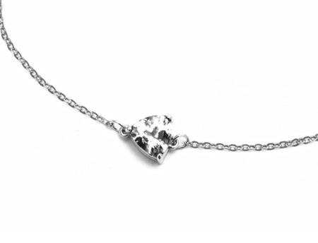 Angela Monaco Eros Trillion Bracelet - Silver/Herkimer