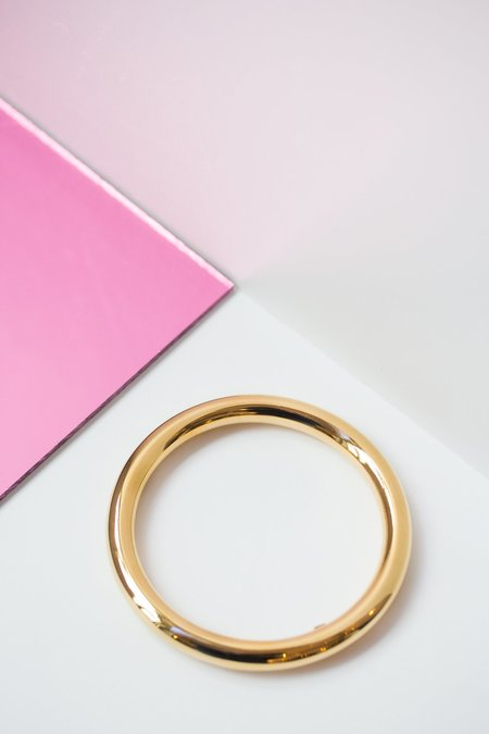 ARO Round Bangle - Gold