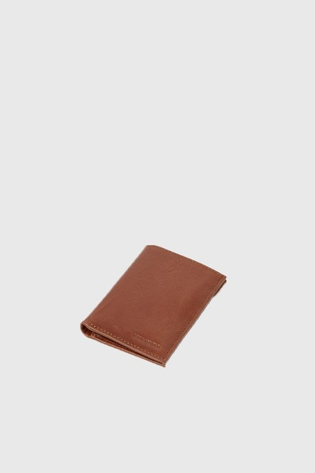 Royal Republiq Crane Double Wallet - Cognac