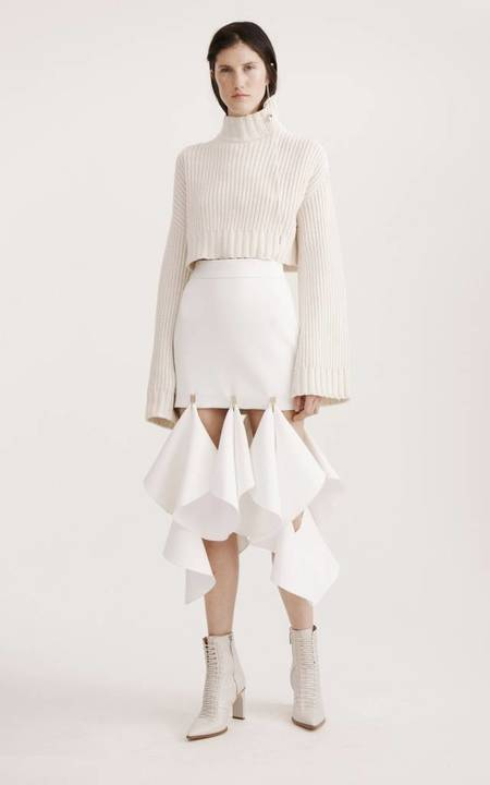 Dion Lee Aviation Sweater - IVORY