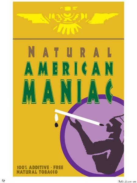 "Kristin Simmons ""Bad Habits: American Maniac"" Unframed"