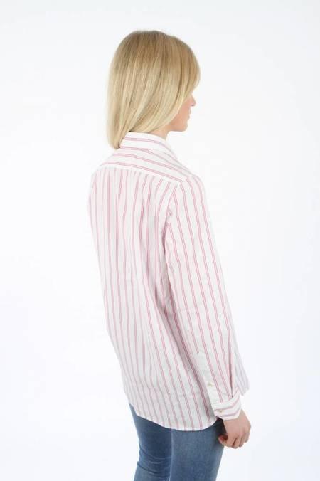 Fil Noir Luisa Maria Stripe Shirt - Pink/White