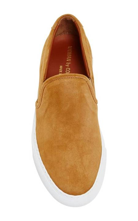 Common Projects Slip On Suede - TAN