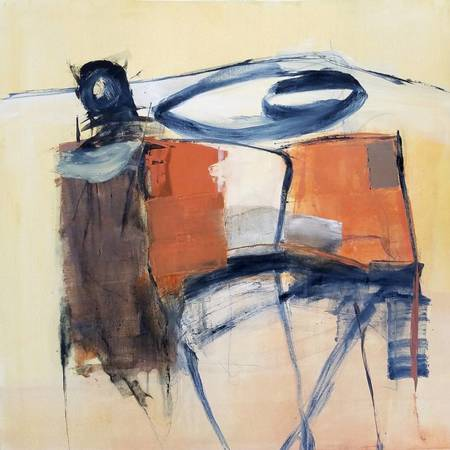 "Alan Taylor Jeffries ""Old Ecstasies"" Oil on Canvas"