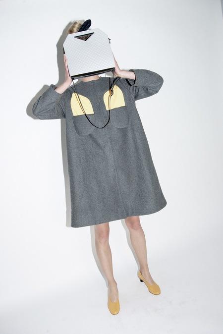 nancystellasoto Bust Flap Coat
