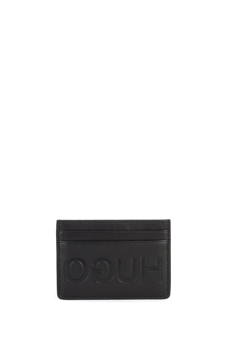 Hugo Card Holder and Key Ring Box - Black