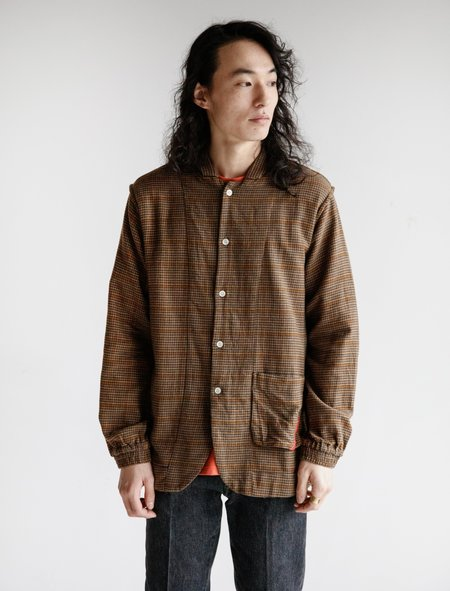Phingerin Night Shirt SVL - Brown Houndstooth