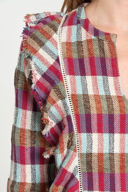 dRA Clothing Rembrandt Top - Jacquard plaid