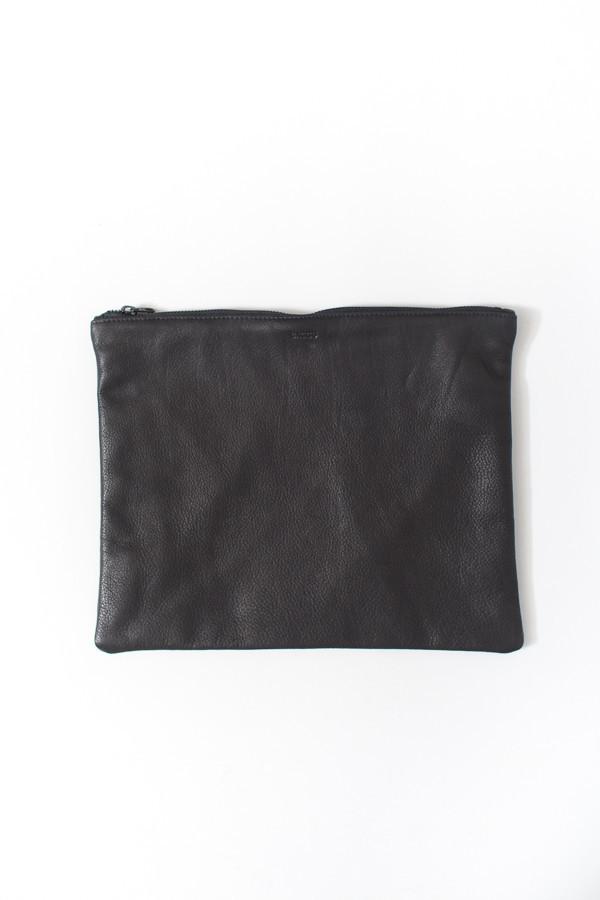 Baggu Large Flat Pouch / Black