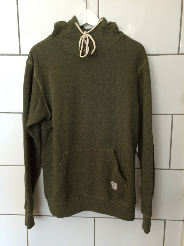 Iron and Resin Olive Todos Santos Pullover