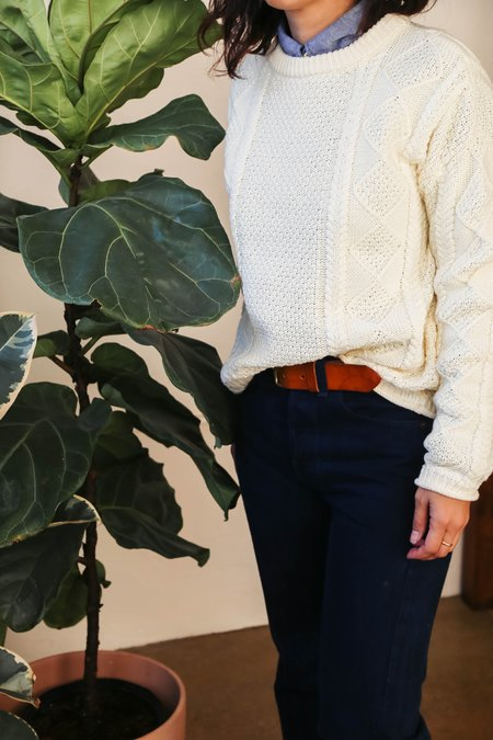 Tradlands Modern Fisher Sweater - Shell