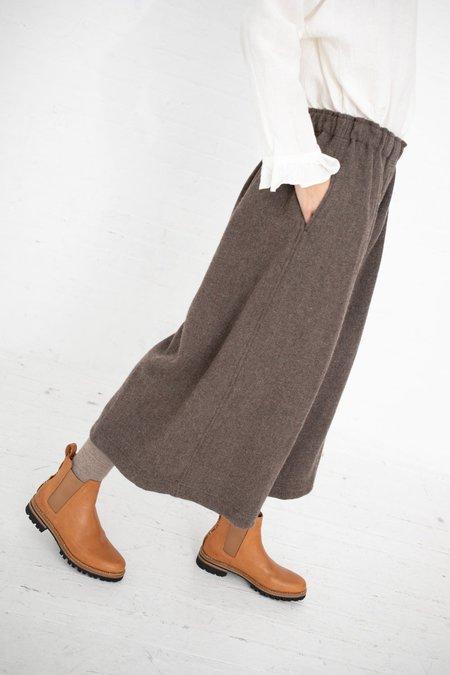 ICHI ANTIQUITES Pant Wool - Brown