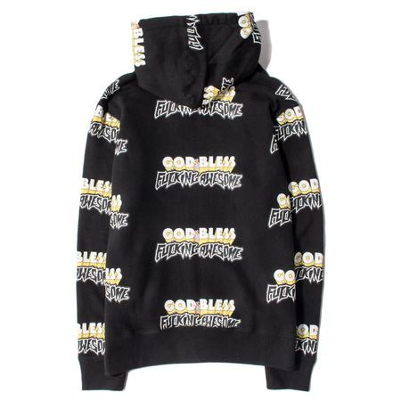 Fucking Awesome God Bless FA Pullover Hoodie - Black