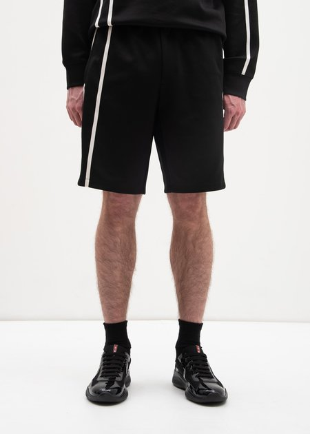 Helmut Lang Sport Stripe Shorts - Black