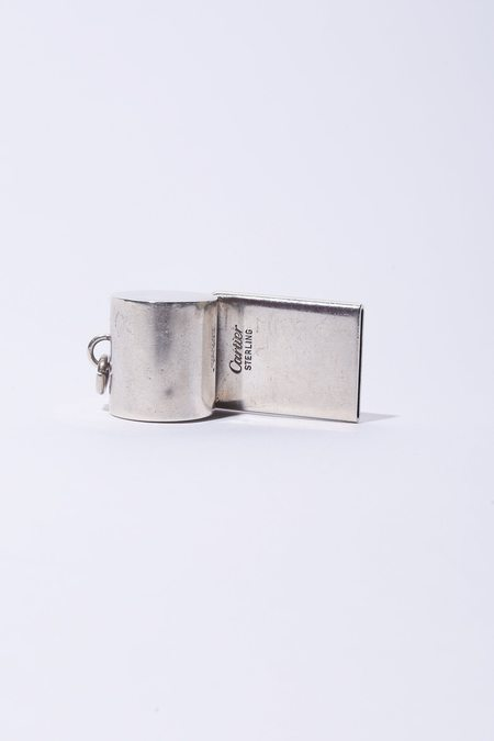 Cartier Vintage Whistle Pendant Charm - Sterling Silver