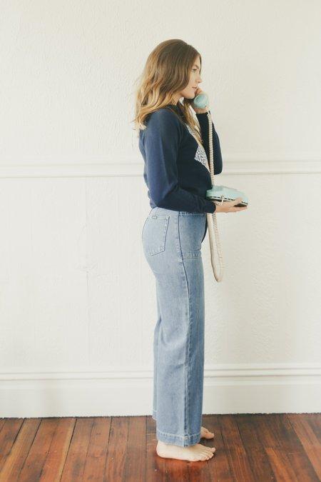 Rollas Sailor Jeans - Crystal Blue