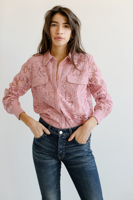 Just Female Erinne Shirt - Bridal Rose
