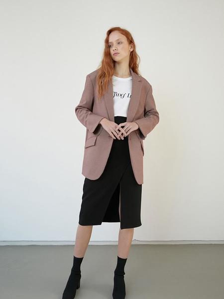 BLUV Petit Check Jacket - Red
