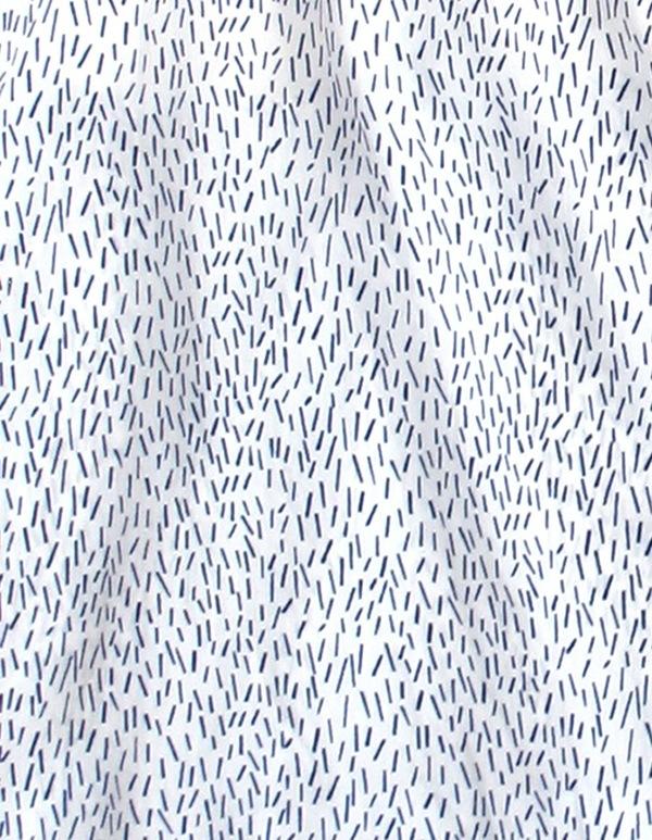 ALI GOLDEN SIDE-GATHERED DRESS - SLASH PRINT