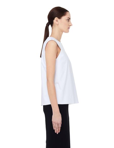 The Row Cotton Shelly Top - White