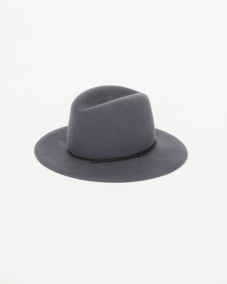 Brookes Boswell Jackson Hat - Grey Wool Felt