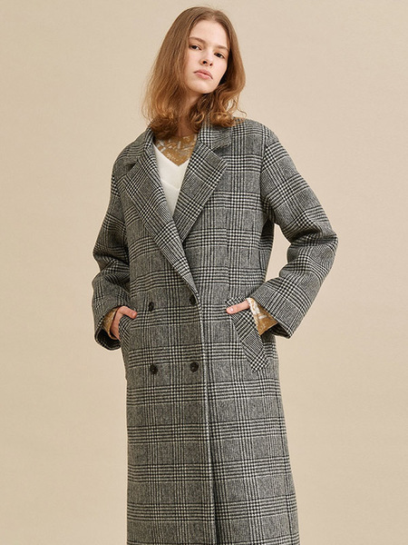 CO/RCA Hedge Coat - Check