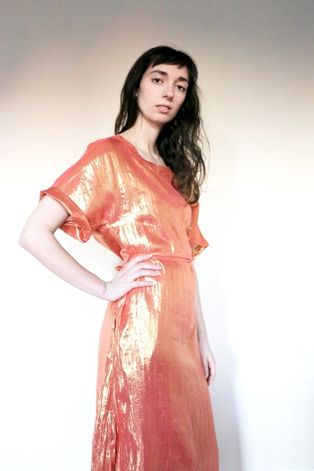 Colorant Prosper Dress - Rose Gold