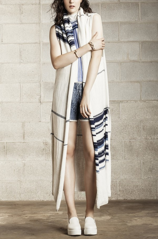 Laura Siegel Long Hand Knit Vest