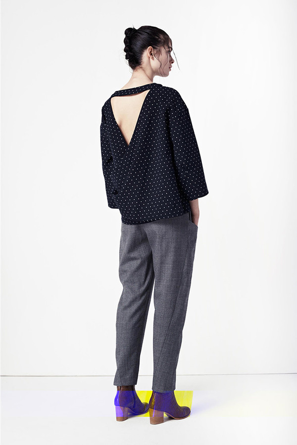Thakoon Addition Cut Out Back Top