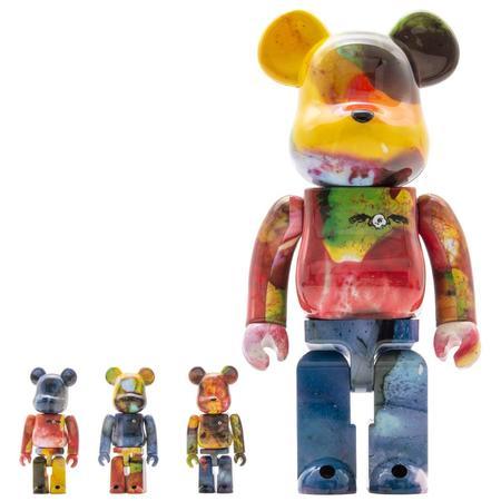 Medicom Toy BE@RBRICK Pushead 3 100% & 400% 4 Piece Set