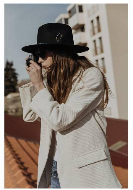 Van Palma Victoria Hat - black