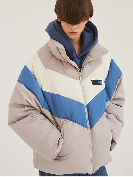 ADD Heavy Duck Puffer Jacket - Sky Blue