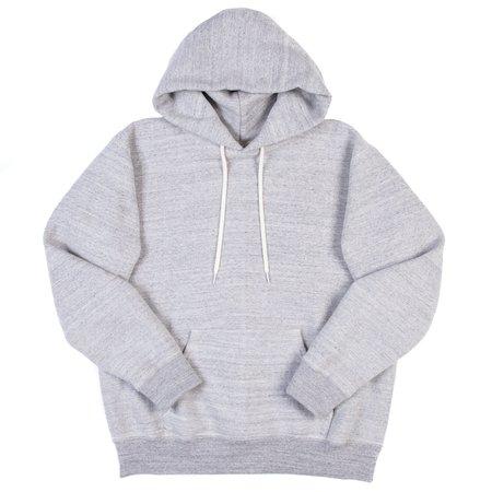 orSlow Hooded Sweatshirt - Heather Grey