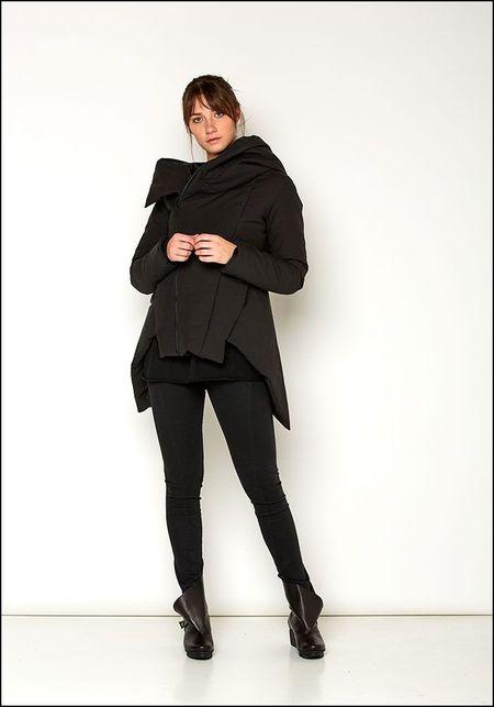 139DEC Short Hooded Winter Jacket