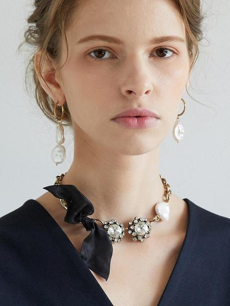 Atelier901 Marion Ribbon Necklace