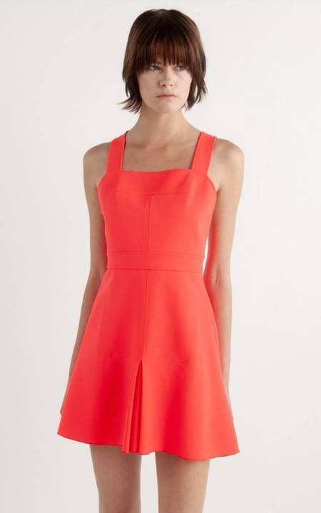 Dion Lee Utility Apron Dress - Acid Red