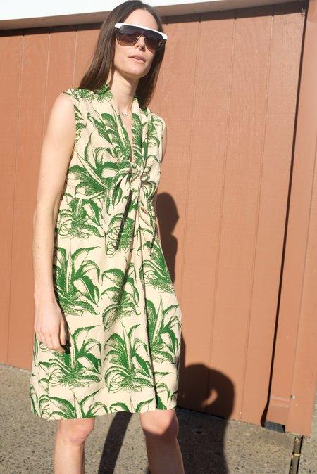 Beklina Nuevo Famoso Dress - Aloe Print