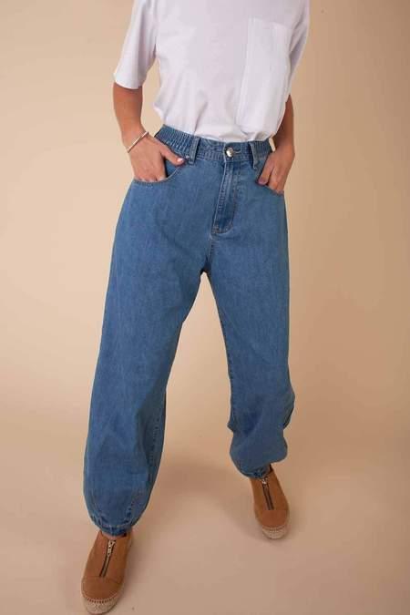 LF Markey Fat Boys Jeans - Mid Blue