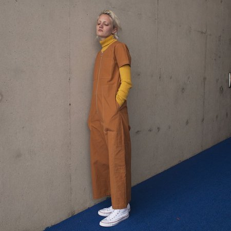 L.F.Markey Felix Boilersuit - Terracotta