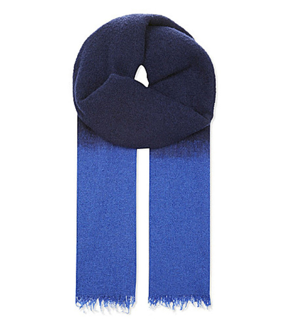 destin Navy Duofluffy Scarf