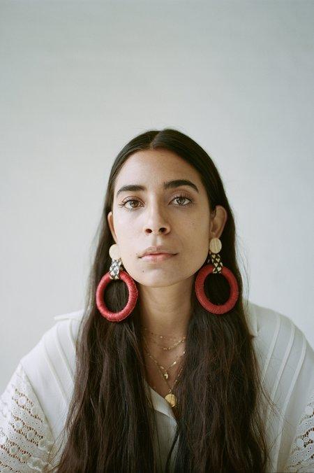 Mola Sasa Maguey Hoop Earrings