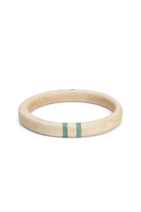 Parts Per Million Oregon Maple Four Stripe Bangle