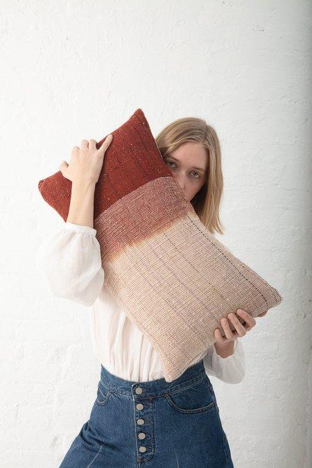 Jess Feury Dip Dye Pillow - Sienna II