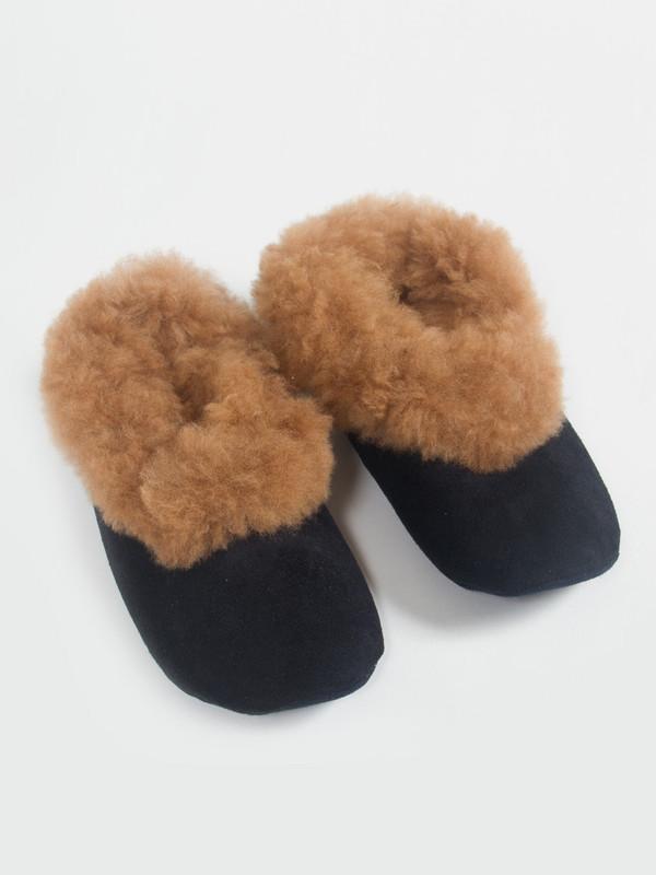 Ariana Bohling Alpaca Scuff Slippers