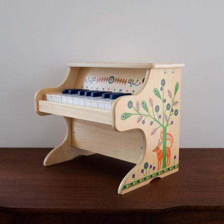 Kids Shop Merci Milo Animambo Wooden Electronic Piano